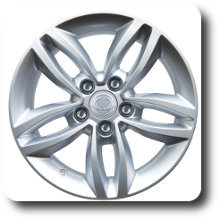 Korando light alloy wheel 16 inch